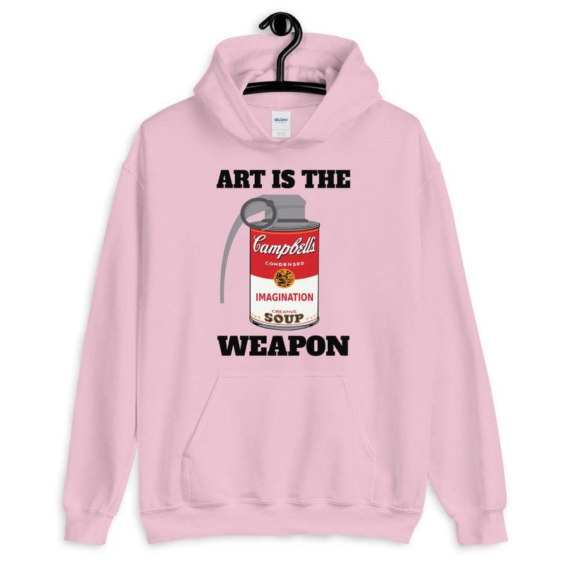 Art Is The Weapon Unisex Hoodie
