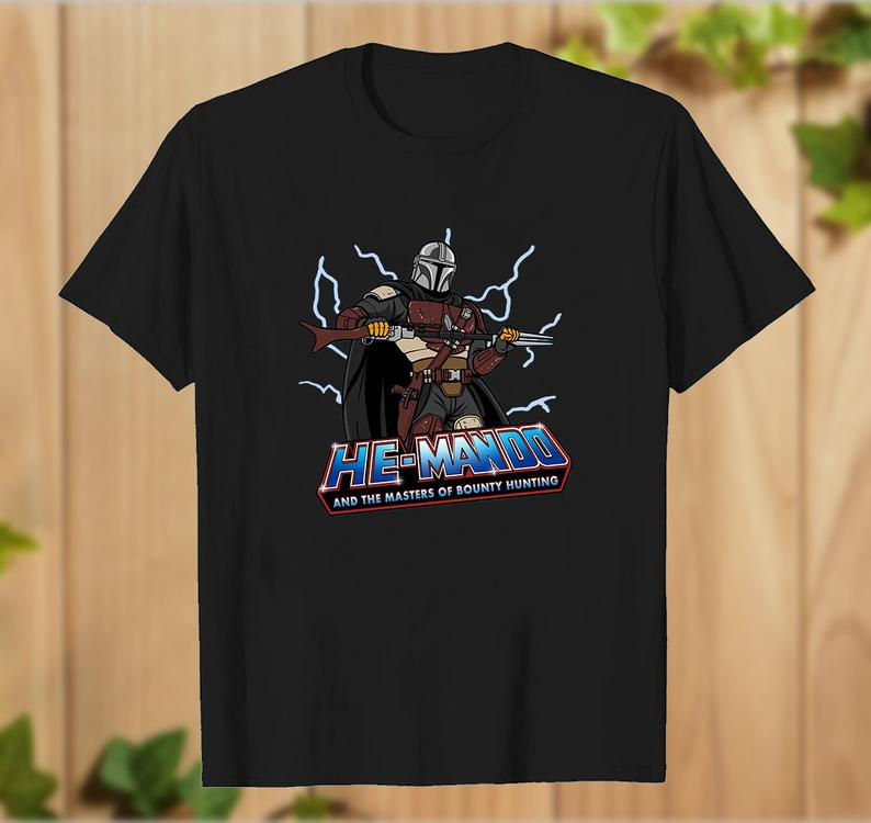 He Mando And The Masters Of Bounty Hunting T Shirt