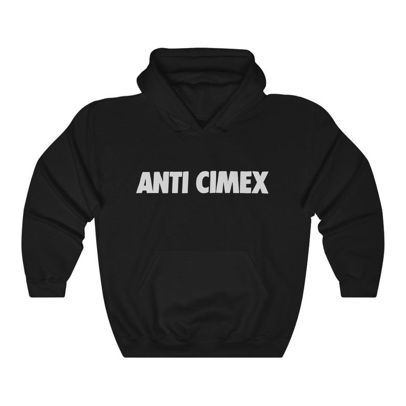 Anti Cimex Logo Unisex Hoodie