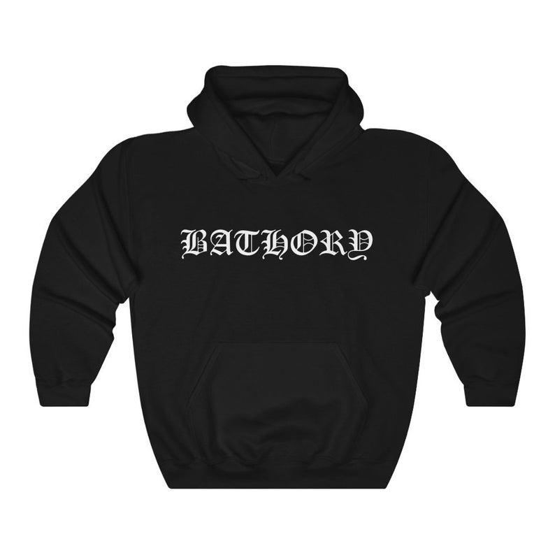 Bathory Logo Unisex Hoodie