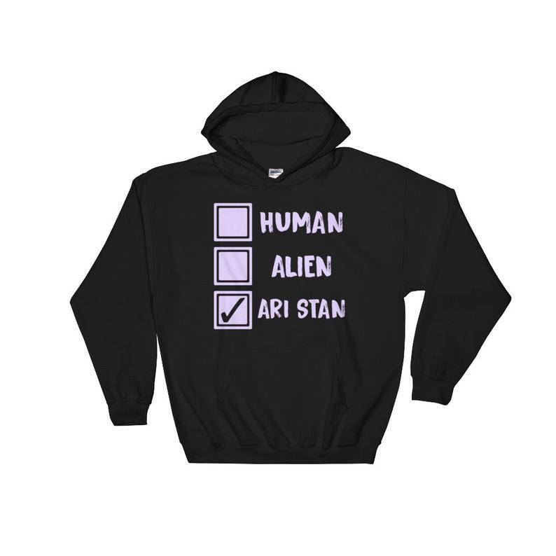 Ari Stan Human Alien Hoodie