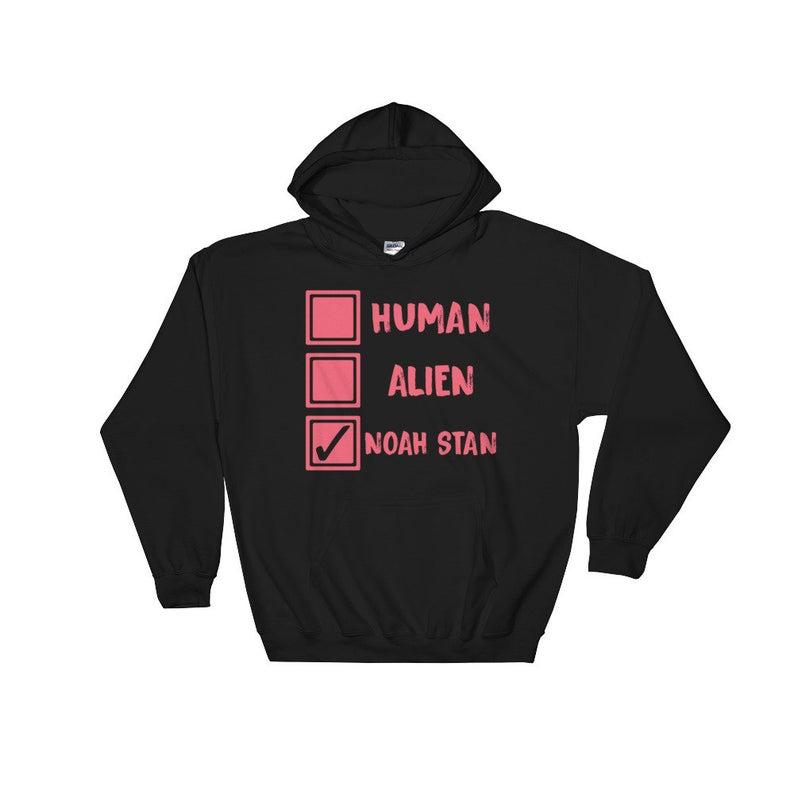 Noah Stan Human Alien Hoodie