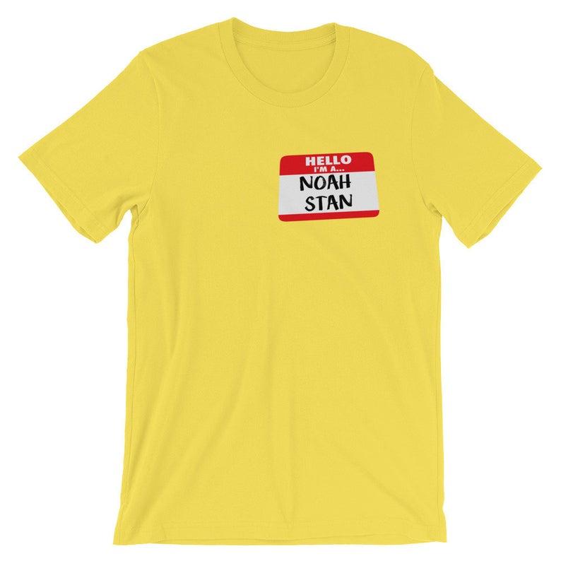Hello, I'm A Noah Stan Short-Sleeve Unisex T Shirt