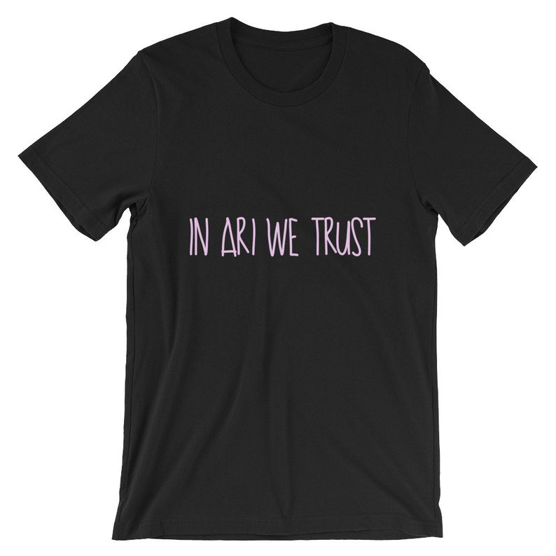 In Ari We Trust Short-Sleeve Unisex T Shirt