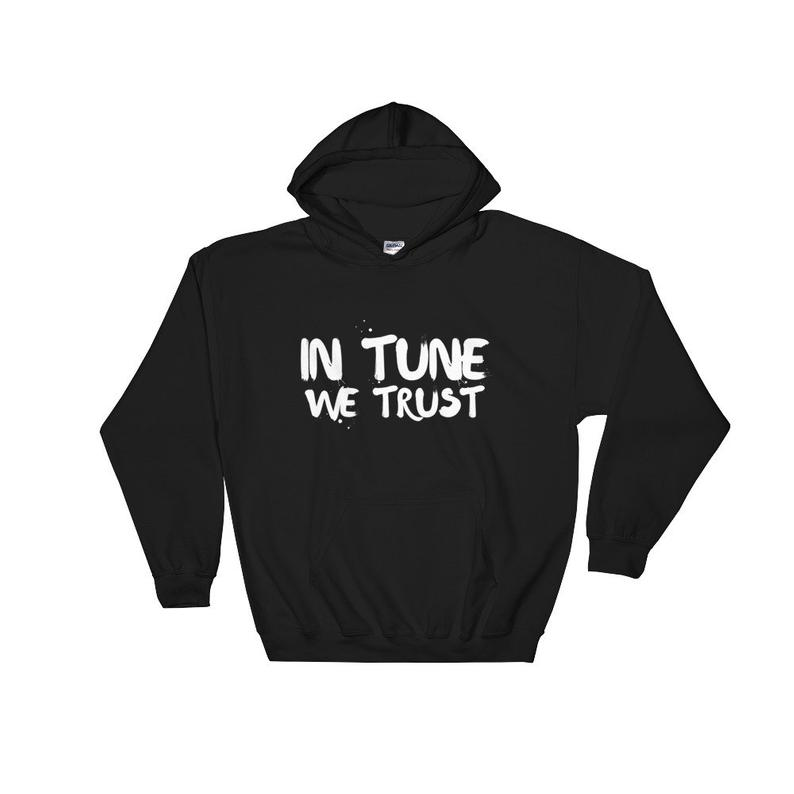 In Tune We Trust Hooded Hoodie
