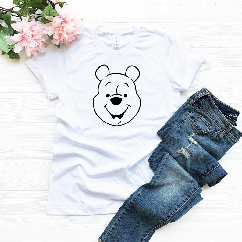 Winnie The Pooh Bear Disney T Shirt